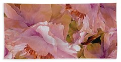 Petal Dimensions 42 Beach Towel by Lynda Lehmann