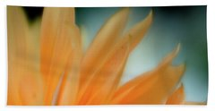 Beach Towel featuring the photograph Petal Disaray by Greg Nyquist