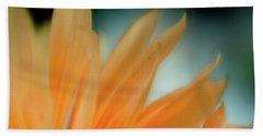 Petal Disaray Beach Sheet by Greg Nyquist