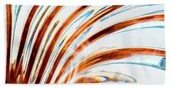 Beach Towel featuring the photograph Petals Of Glass by Wendy Wilton