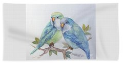 Pete And Repete Beach Towel by Marcia Baldwin