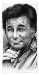 Peter Falk Beach Towel