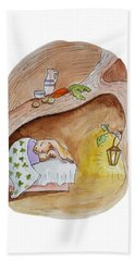 Peter Rabbit  Beach Towel by Irina Sztukowski
