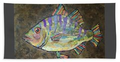 Peter The Perch Beach Towel
