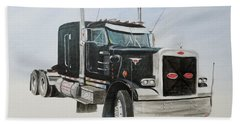 Peterbilt Beach Towel