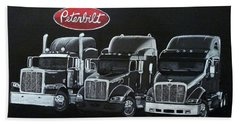 Peterbilt Trucks Beach Sheet