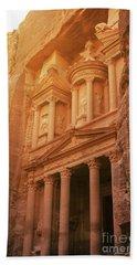 Petra Treasury, Jordan Beach Towel
