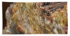 Petrified Wood Beach Towel