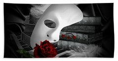 Phantom Of The Opera Beach Towel