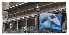 Beach Towel featuring the photograph Phantom Of The Opera - Broadway by Timothy Lowry