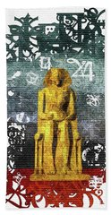 Pharaoh Of Egypt Beach Towel