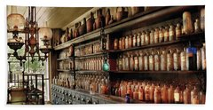 Pharmacy - So Many Drawers And Bottles Beach Towel