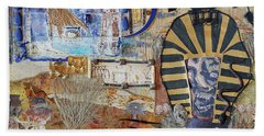 Pharaonic Fantasies Beach Towel
