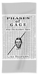 Phases Of Gage Book Poster  Beach Sheet