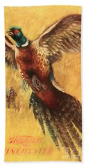 Pheasant Hunter Beach Towel