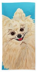 Phebe Date With Paint Nov 20th Beach Towel