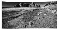 Beach Sheet featuring the photograph Pheiffer Beach -keyhole Rock #17 Big Sur, Ca by Jennifer Rondinelli Reilly - Fine Art Photography