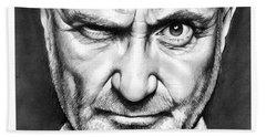 Phil Collins Beach Towel