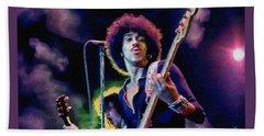 Phil Lynott - Thin Lizzy Beach Towel