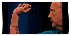 Phil Taylor The Power Beach Sheet by Paul Meijering