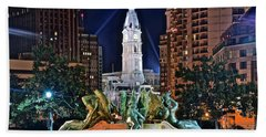 Philadelphia City Hall Beach Towel