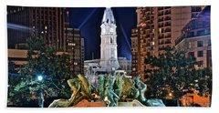 Philadelphia City Hall Beach Sheet