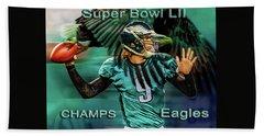 Philadelphia Eagles - Super Bowl Champs Beach Towel