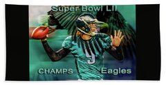 Philadelphia Eagles - Super Bowl Champs Beach Sheet