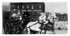 Philadelphia Fire Department Engine - C 1905 Beach Towel