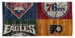 Philadelphia Sports Teams Beach Sheet