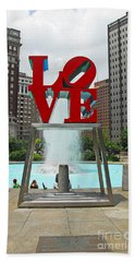 Philadelphia's Love Park Beach Sheet