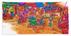 Philippine Open Air Market Beach Sheet