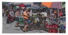 Philippines 708 Market Beach Sheet