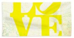 Philly Love V14 Beach Towel