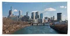 Philly Winter Beach Towel