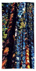 Phil's Trees Beach Towel