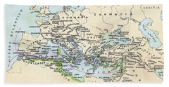 Phoenician Colonies And Area Of Beach Towel