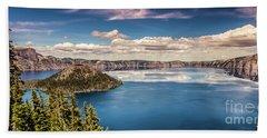 Crater Lake Beach Towel