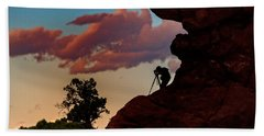 Photographing The Landscape Beach Towel