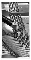 Piano Tuning Bw Beach Sheet