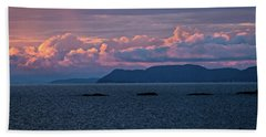 Beach Towel featuring the photograph Pic Island by Doug Gibbons