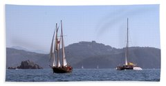 Picante And Patricia Belle Beach Towel by Jim Walls PhotoArtist