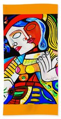 Picasso By Nora Turkish Man Beach Towel