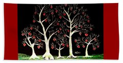 The Valentine Forest Beach Towel