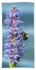 Pickerelweed Bumble Bee Beach Sheet