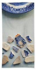 Picking Up The Broken Pieces Beach Sheet