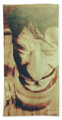 Pickle Me Grandfather Beach Towel