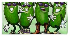 Pickle Party Beach Towel