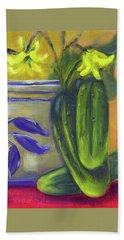 Pickling Cucumbers  Beach Towel
