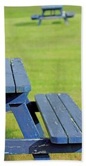 Picnic Tables Beach Towel